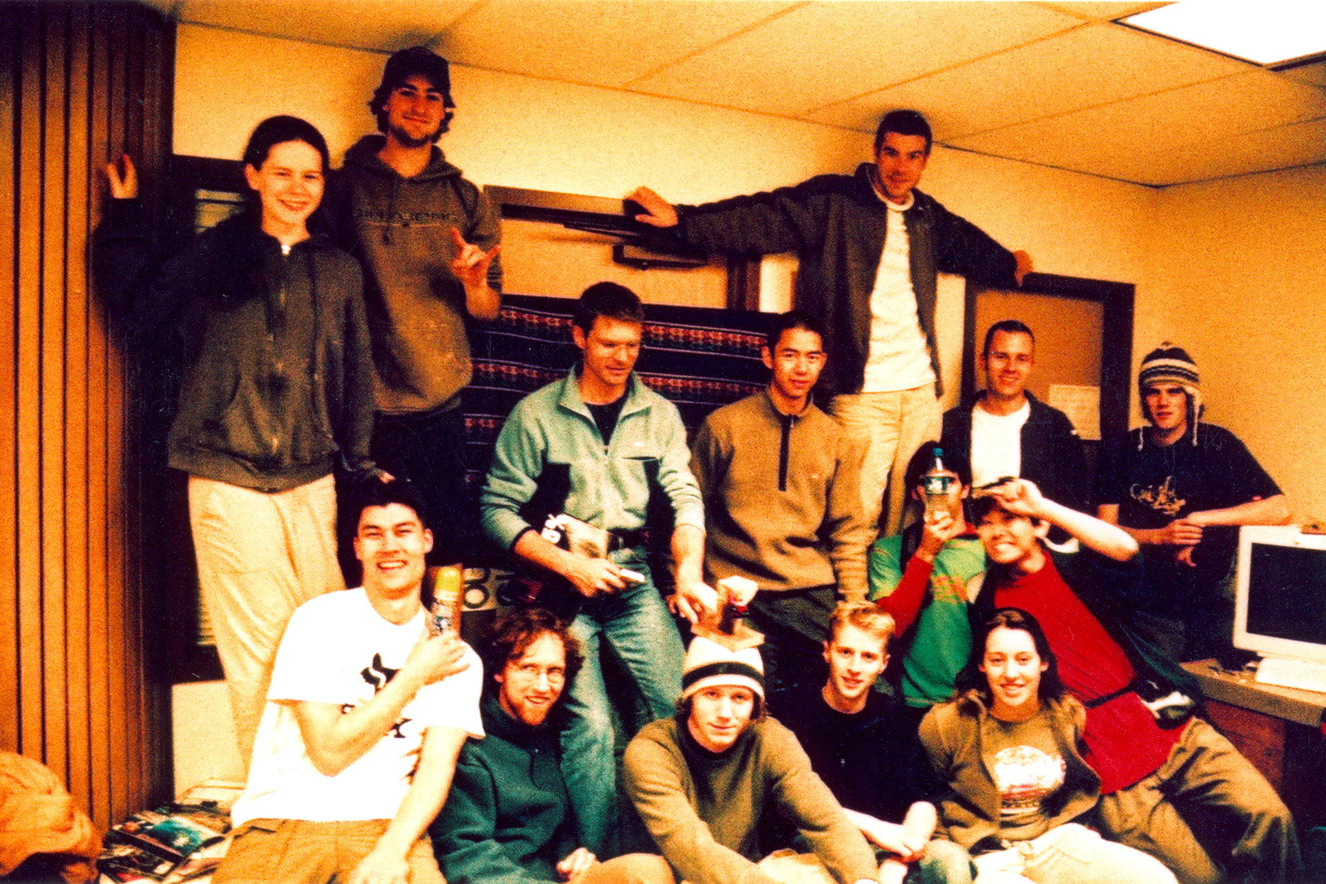 Comp 1 participants. April 2004.